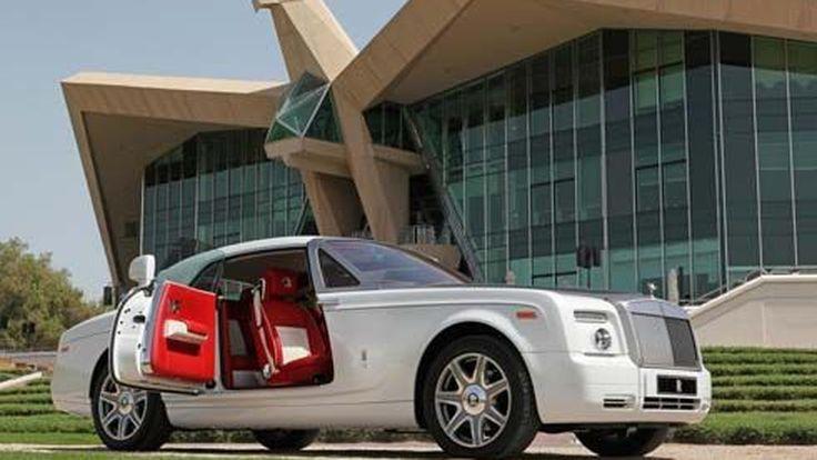 Rolls Royce Phantom Baynunah และ Coupe Shaheen สั่งทำพิเศษเพื่อลูกค้าในอะบูดาบี