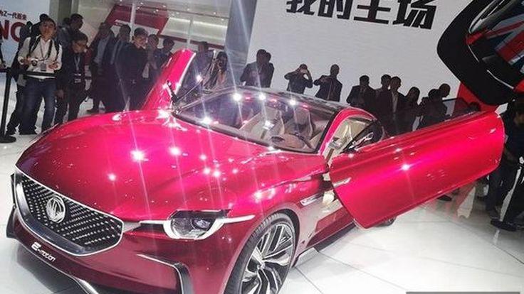 [SAIC2017] MG E-Motion Concept การคืนชีพของสปอร์ตคูเป้ 2 ประตูสายพันธุ์อังกฤษ