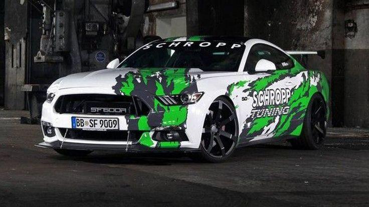 ถึงตาสำนักฝั่งเยอรมัน !! Schropp Tuning โชว์ผลงานโมฯ Ford Mustang พลัง 807 แรงม้า