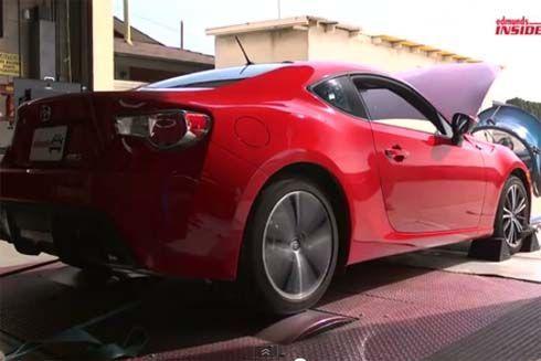 Scion FR-S รุ่นปี 2013 ทำ Dyno Test วัดกำลังขุมพลัง 4 สูบ 2.0 ลิตร จาก Subaru