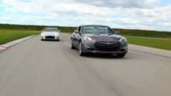 Scion FR-S, Hyundai Genesis Coupe, Mazda MX-5 ประชันกันบนสนามแข่ง
