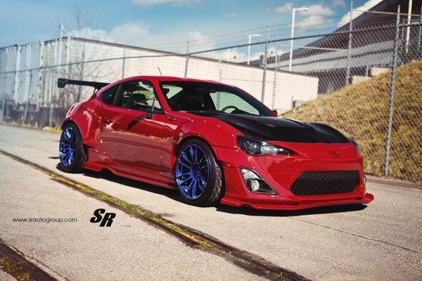 Scion FR-S แต่งดุสไตล์อเมริกาเหนือโดย SR Auto Group
