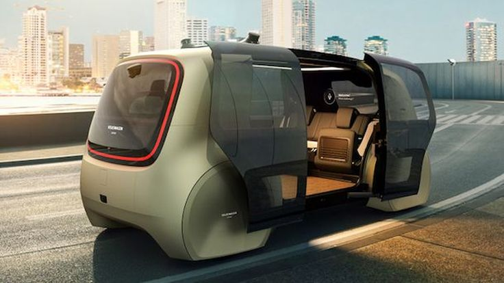 [Shanghai2017] Volkswagen Sedric Concept ต้นแบบรถยนต์ขับอัตโนมัติไร้แผงควบคุมรุ่นแรกของโลก