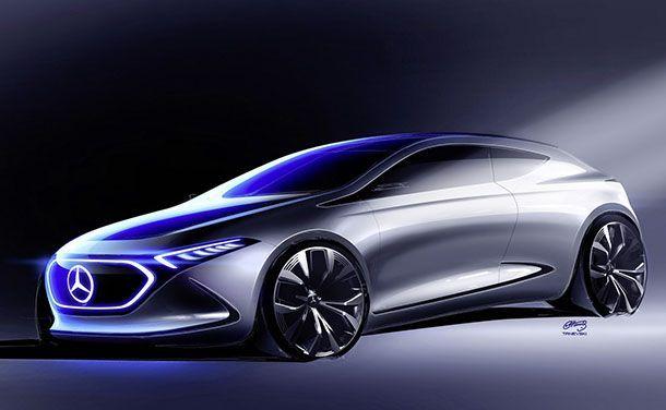 ยลภาพสเก็ตช์เต็มคัน Mercedes-Benz EQ A สปอร์ตกว่าที่คาด