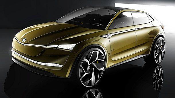 Skoda ส่ง Vision E Concept กำหนดแนวทางการพัฒนารถพลังไฟฟ้า