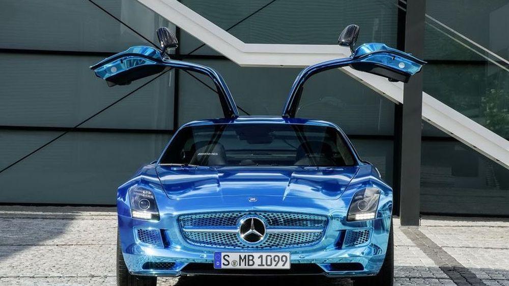 SLS AMG Electric กับเป้าหมายสายแรงแห่งพลังไฟฟ้ายอดนิยมคันถัดไปจาก Mercedes-AMG