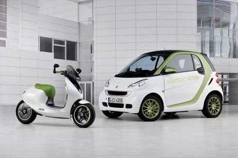 Smart eScooter มอเตอร์ไซค์ไฟฟ้าแนวคิด เป็นมิตรกับสิ่งแวดล้อม ไฮเทคทั้งตัวพร้อมอวดโฉมที่ปารีส