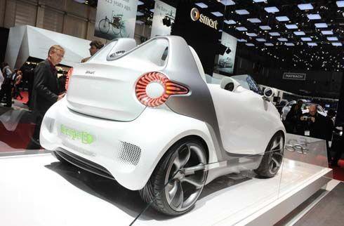 สัมผัส Smart Forspeed Concept สะท้อนรูปลักษณ์ Fortwo และ Forfour ในอนาคต