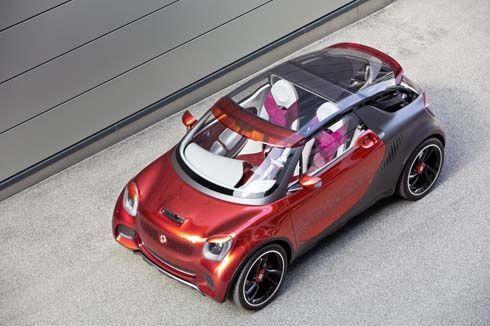 Smart เปิดตัว Forstars รถต้นแบบคูเป้อเนกประสงค์พลังงานไฟฟ้า