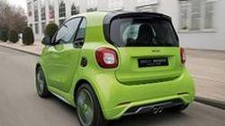 Smart ForTwo Brabus เติมความสปอร์ตให้รถเล็กพริกขี้หนู
