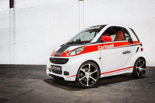 Smart Race Edition เติมความร้อนแรงสไตล์รถแข่งฝีมือของ Carlsson