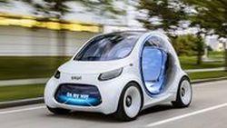 Smart เผยโฉม Vision EQ Concept Fortwo รถต้นแบบขับขี่อัตโนมัติ 2 ที่นั่ง