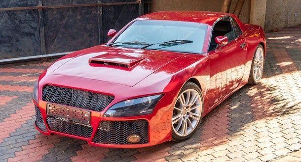 [ชมคลิป] รถยนต์แฮนด์เมดจากหนุ่มชาว แอฟริกาใต้ ที่นำชิ้นส่วนรถดังหลายรุ่นในประกอบเป็นรถใหม่