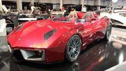 Spada Codatronca Monza เปิดตัวแล้วที่ 2011 Top Marques Monaco Show