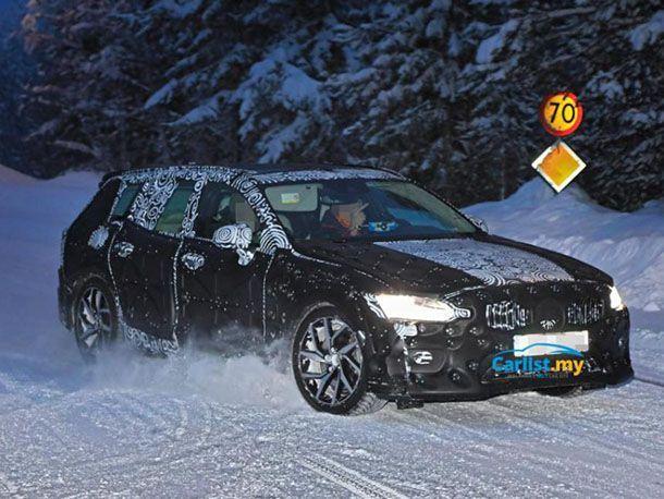 สปายช็อต All-New Volvo V60 ทดสอบสมรรถนะท่ามกลางอากาศหนาวเย็น