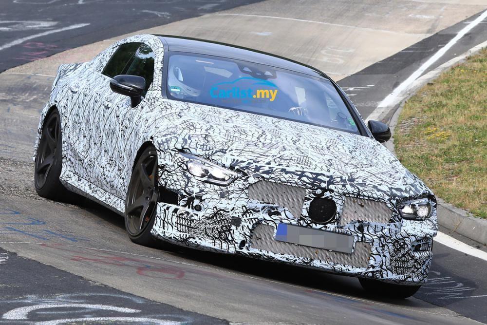 สปายช็อต Mercedes-AMG GT ตัวแรง 4 ประตูทดสอบในเนอร์เบิร์กริง