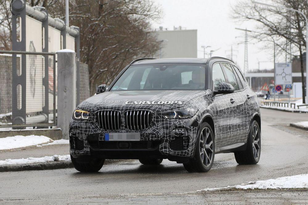 แอบดู 2019 BMW X5 พร้อมภาพภายใน(อัพเดท)