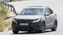 แอบส่อง 2019 Honda HR-V เวอร์ชั่นยุโรปปรับหน้าใหม่