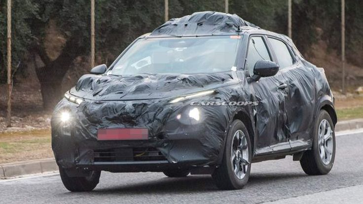 [สปายช็อต] 2020 Nissan Juke ล่าสุด พร้อมโครงสร้างตัวถังแบบใหม่ CMF-B