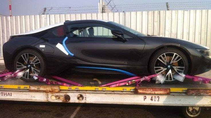 ชมภาพ SpyShot  BMW i8 คันแรกในประเทศไทย