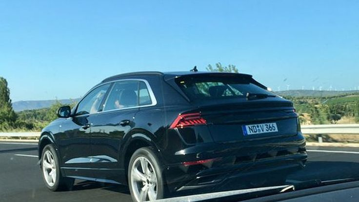 สปายช็อตบั้นท้ายเต็มคัน Audi Q8 จ่อเปิดตัวปีหน้า