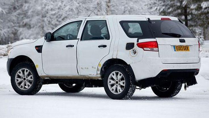สปายช็อต Ford Everest เจนเนอเรชั่นใหม่ขณะทดสอบสมรรถนะ