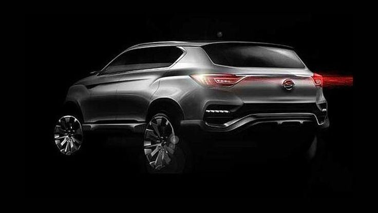 SsangYong LIV-1 Concept ว่าที่ Rexton อวดโฉมก่อนงานโซล มอเตอร์โชว์