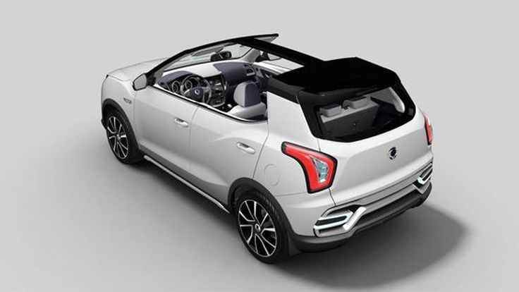 PARIS 2014: SsangYong XIV-Air คิดใหม่ทำใหม่ รถครอสโอเวอร์เปิดประทุน