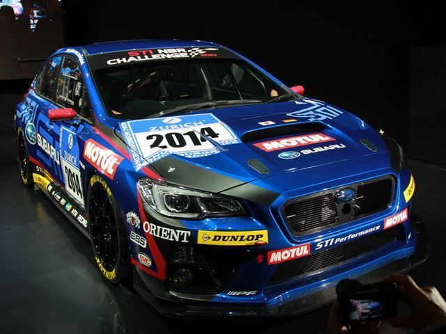 Subaru เตรียมส่ง WRX STI เข้ารายการ 24 Hours Nurburgring