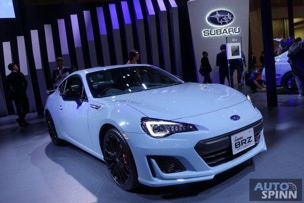 [Tokyo2017] พาชม Subaru BRZ STI Sport สปอร์ตท็อปไลน์ 200 แรงม้า สีพิเศษ จำกัดเพียง 100 คัน ทั่วโลก
