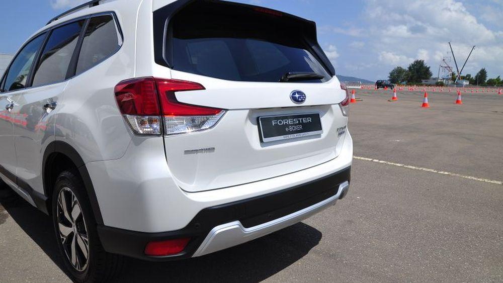 Subaru Forester e-Boxer Hybrid 2019 เปิดตัวครั้งแรกในอาเซียนงาน Singapore Motor Show ตลาดไทยรอก่อน