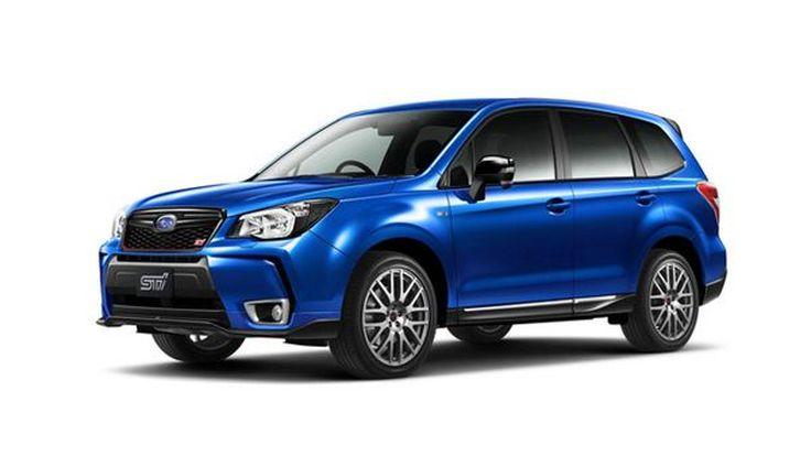 Subaru Forester tS ลิมิเต็ดเอดิชั่นสำหรับตลาดญี่ปุ่น