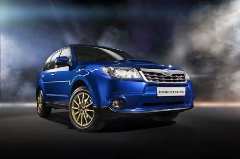 Subaru Forester tS ครอสโอเวอร์พันธุ์แรงสไตล์ STI สำหรับตลาดรัสเซีย