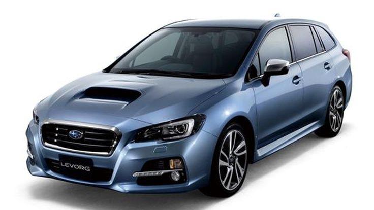 Subaru LEVORG สปอร์ตวากอนรุ่นต้นแบบ ออกขายแน่ปีหน้า