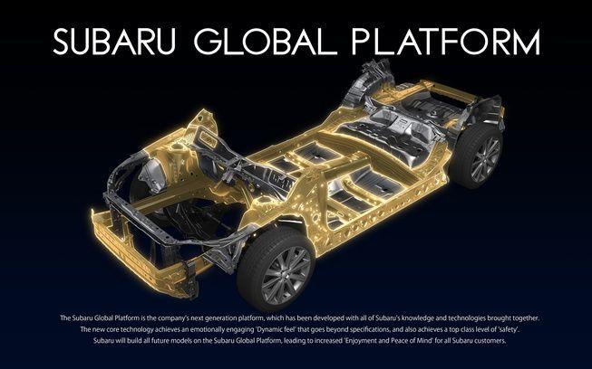 Subaru เปิดตัวแพลทฟอร์มใหม่ เน้นน้ำหนักเบา