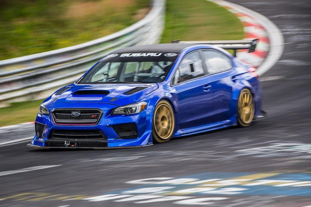 Subaru สร้างสถิติรถซีดานเร็วที่สุดในสนามเนอร์เบิร์กริง