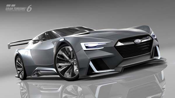 ล้ำอนาคต Subaru Viziv GT Vision Gran Turismo รถแข่งเสมือนจริง