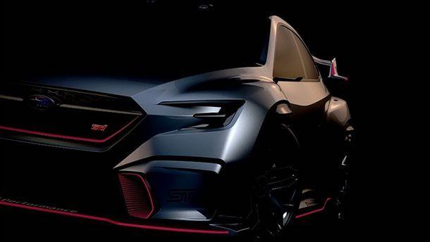 Subaru แย้มภาพ Viziv Performance STI Concept ซีดานสุดสปอร์ต