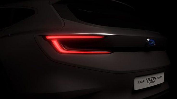 Subaru ส่งทีเซอร์ Viziv Tourer Concept ก่อนเปิดตัวที่งานเจนีวา มอเตอร์โชว์