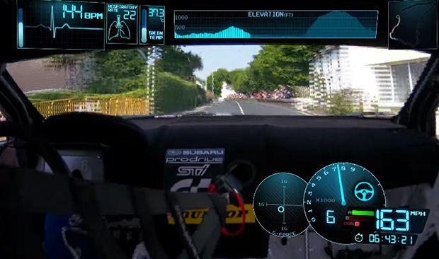 ชมวีดีโอชวนขนหัวลุก Subaru WRX STI ทำสถิติในสนาม Isle of Man TT