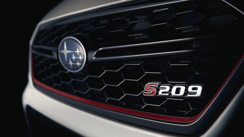 Subaru WRX STI S209 Limited Edition พร้อมอวดโฉมที่ Detroit Auto Show แน่นอน