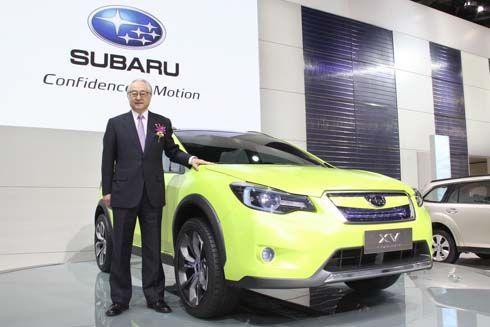Subaru XV Concept รถ Crossover/SUV ใช้พื้นฐานของ Impreza เปิดตัวที่เซี่ยงไฮ้