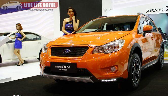 Subaru XV Crosstek  โฉมใหม่ เปิดตัวแล้วที่ Kuala Lumpur  กับค่าตัว 1.39 แสนริงกิต
