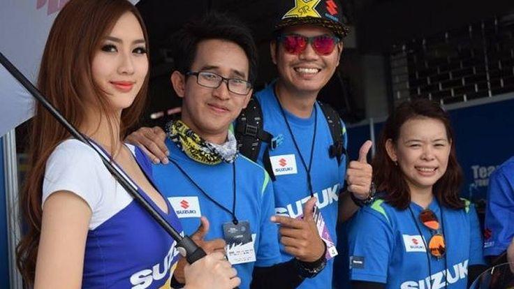 ซูซูกิจัด บิ๊กไบค์ ทริป พาลูกค้าและผู้สนใจชมการแข่งขัน เอเชีย โร้ด เรซซิ่ง ที่บุรีรัมย์