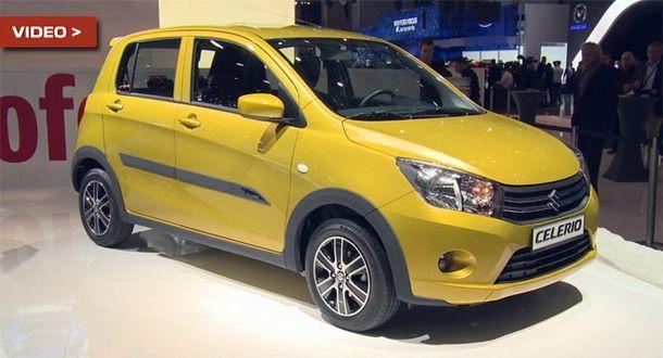 Suzuki Celerio รถเล็ก ว่าที่ Eco Car ใหม่ เผยโฉมแล้วที่ Geneva