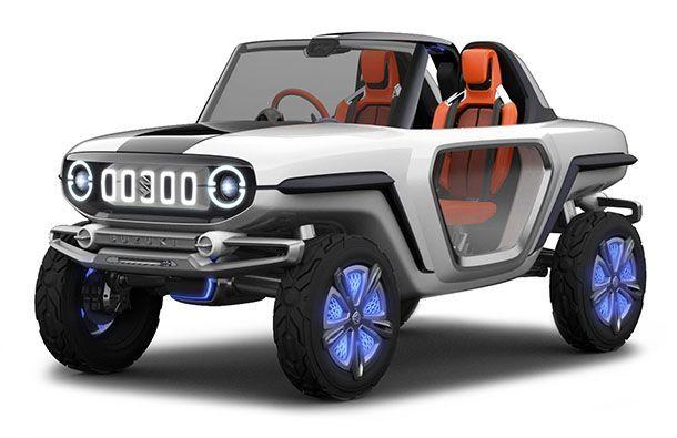 Suzuki e-Survivor Concept รถออฟโรดหัวใจขับเคลื่อนไฟฟ้า