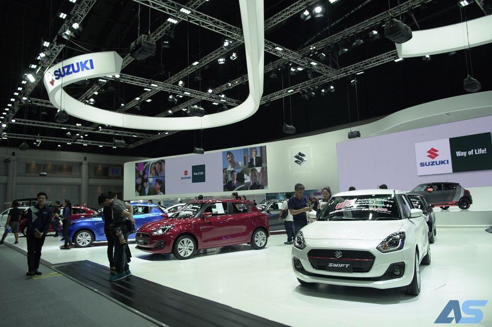 [Motor Expo] Suzuki พร้อมเปิดตัว ERTIGA ใหม่ปีหน้า ส่วน Jimny รอก่อน