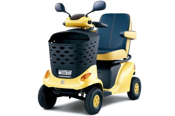 เก็บตก Tokyo Motor Show ชมสกูตเตอร์ต้นแบบ Suzuki ET4D Concept