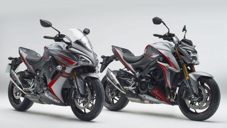 Suzuki GSX-S1000 และ GSX-S1000F Yoshimura ลายพิเศษมทาพร้อมท่อและของแต่งจากโรงงาน