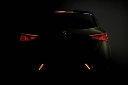 Suzuki S-CROSS Concept ในภาพทีเซอร์ที่ 3 คราวนี้โชว์บั้นท้าย